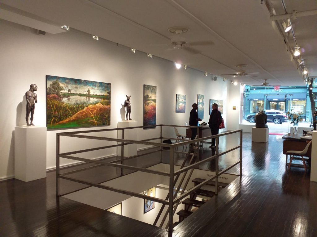 Exhibition view, Hugo Galerie